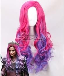 Descendants 3 Audrey Pink Purple Cosplay Wig