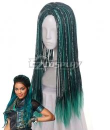 Descendants 3 Uma Green Cosplay Wig