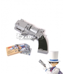 Detective Conan Kid the Phantom Thief Gun Cosplay Weapon Prop