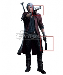 Devil May Cry 5 Dante Double Gun Cosplay Weapon Prop