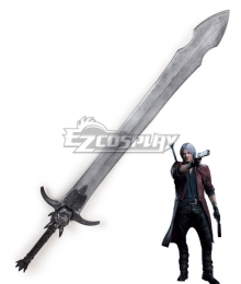 Devil May Cry 5 Dante Rebellion 3D Printing Sword Cosplay Weapon Prop
