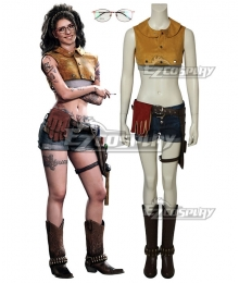 Devil May Cry 5 Devil May Cry Five Nico Nicoletta Goldstein Cosplay Costume