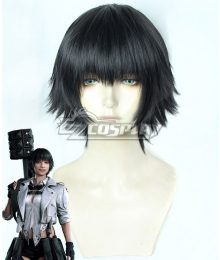Devil May Cry 5 Lady Black Cosplay Wig