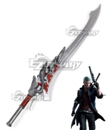 Devil May Cry 5 Nero Red Queen Sword Cosplay Weapon Prop
