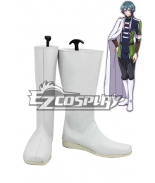 Devils and Realist Camio White Shoes Cosplay Boots