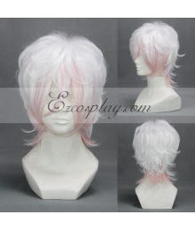 Diabolik Lovers More Blood Sakamaki Reiji Sakamaki Subaru Light Pink Cosplay Wig-303B