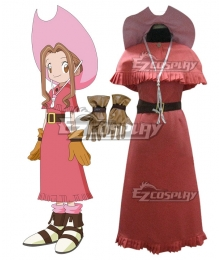 Digimon Adventure Digimon Monster Mimi Tachikawa Cosplay Costume