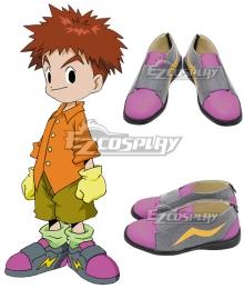 Digimon Adventure Izumi Koshiro Pink Cosplay Shoes