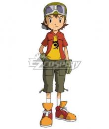 Digimon Frontier Kanbara Takuya Cosplay Costume