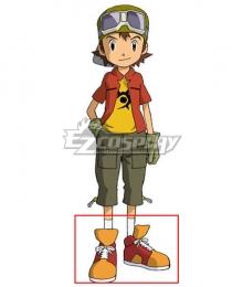 Digimon Frontier Kanbara Takuya Red Cosplay Shoes