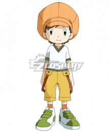 Digimon Frontier Tommy Himi Cosplay Costume