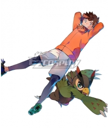 Digimon Survive Minoru Hyuga Cosplay Costume