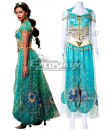 Disney 2019 ALADDIN Princess Jasmine Cosplay Costume