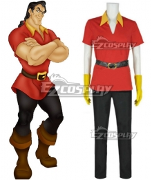 Disney Beauty And The Beast Gaston Cosplay Costume