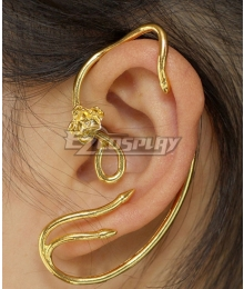 Disney Beauty and The Beast Movie 2017 Belle One Earring Cosplay Accessory Prop