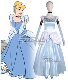 Disney Cartoon Cinderella Princess Cinderella Cosplay Costume