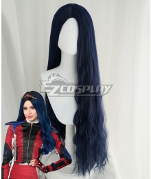 Disney Descendants 3 Evie Blue Cosplay Wig