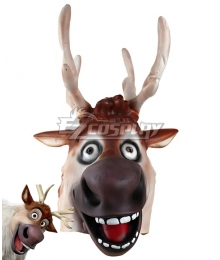 Disney Frozen 2 Deer Mask Halloween Christmas Cosplay Accesory Prop