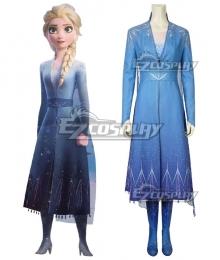 Disney Frozen 2 Elsa Snow Queen Cosplay Costume