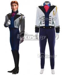 Disney Frozen Prince Hans Cosplay Costume