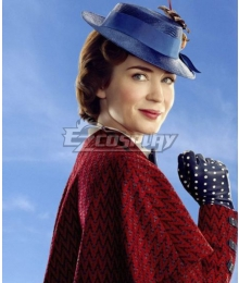 Disney Mary Poppins Brown Cosplay Wig