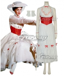 Disney Mary Poppins Cosplay Costume - C Edition