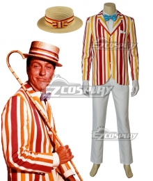 Disney Mary Poppins Returns Bert Cosplay Costume