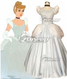 Disney Princess Cinderella Cosplay Costume - New Edition