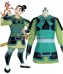 Disney Princess Hua Mulan Soldier Cosplay Costume