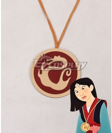 Disney Princess Mulan Medal Cosplay Accessory Prop