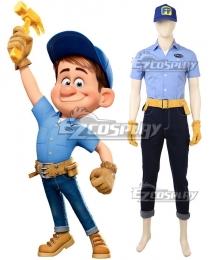 Disney Ralph Breaks the Internet: Wreck-It Ralph 2 Fix-It Felix Cosplay Costume