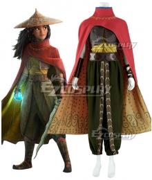 Raya And The Last Dragon Raya Cosplay Costume
