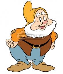 Disney Snow White and the Seven Dwarfs Happy Halloween Cosplay Costume