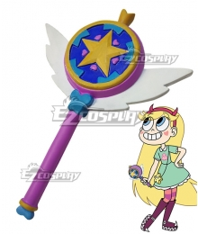 Disney Star Vs. The Forces Of Evil Princess Star Butterfly Magic Wand Cosplay Weapon Prop