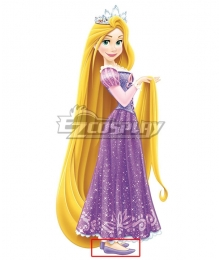 Disney Tangled Rapunzel Princess Purple Cosplay Shoes