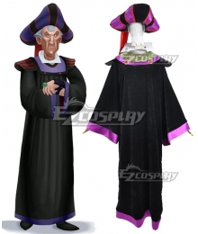 Disney The Hunchback Of Notre Dame Frollo Cosplay Costume