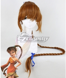 Disney Tinker Bell Fawn Brown Cosplay Wig