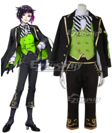 Disney Twisted Wonderland Diasomnia Lilia Vanrouge Uniform Cosplay Costume