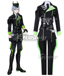 Disney Twisted Wonderland Diasomnia Silver Cosplay Costume