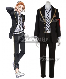 Disney Twisted Wonderland Heartslabyul Ace Trappola Deuce Spade Trey Clover Cosplay Costume
