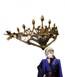 Disney Twisted Wonderland Pomefiore Vil Schoenheit Crown Cosplay Accessory Prop