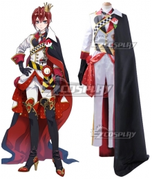 Disney Twisted Wonderland Riddle Rosehearts Cosplay Costume