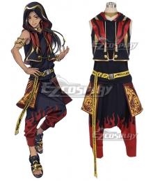 Disney Twisted Wonderland Scarabia Jamil Viper Cosplay Costume