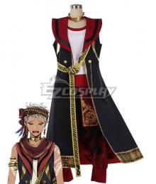 Disney Twisted Wonderland Scarabia Kalim Al-Asim Cosplay Costume