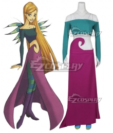 Disney W.I.T.C.H.  Witch Cornelia Hale Cosplay Costume