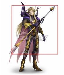 Dissidia Final Fantasy NT Emperor Mateus Cosplay Weapon Prop