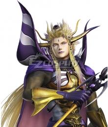 Dissidia Final Fantasy NT Emperor Mateus Golden Cosplay Wig