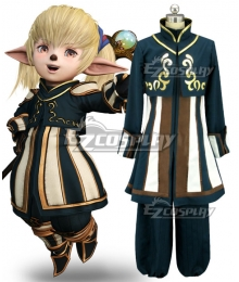 Dissidia Final Fantasy NT FF11 Shantotto Cosplay Costume