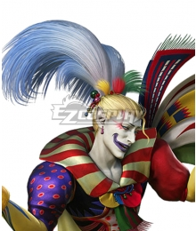 Dissidia Final Fantasy NT FF6 Kefka Golden Cosplay Wig