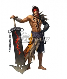 Dissidia Final Fantasy NT Jecht Cosplay Costume